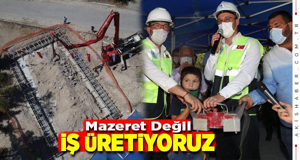 Pamukkale Belediyesi 5. Pazar Yerinin Temelini Attı