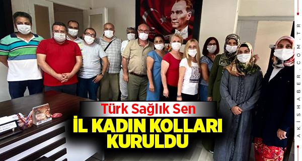 Türk Sağlık Sen İl Kadın Kollarını kurdu