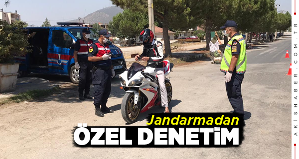 Denizli'de Motosiklet Sürücülerine Ceza Yağdı