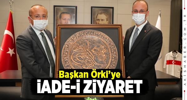 Vali Atik Pamukkale Belediyesini Ziyaret Etti