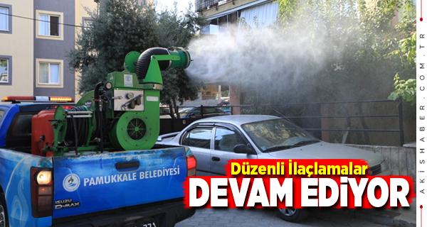 Pamukkale Belediyesi Filosu Halkın Hizmetinde