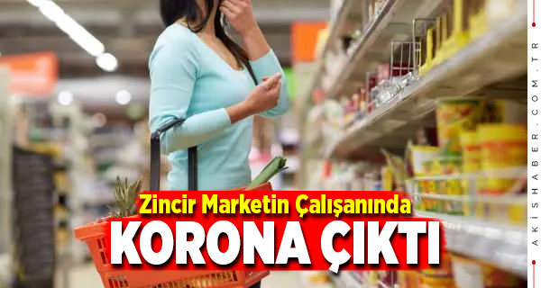 Denizli'de Korona Çıkan Marketteki Manzara Şoke Etti
