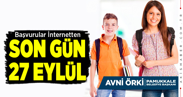 Pamukkale Belediyesi'nden Öğrencilere Eğitim Takviyesi