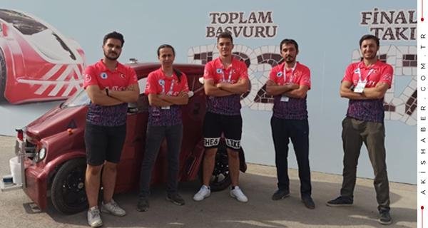 PAÜ Teknofest'ten Eli Boş Dönmedi