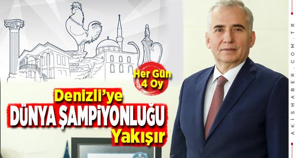 Haydi Denizli Şehrini Dünya Şampiyonu Yap!