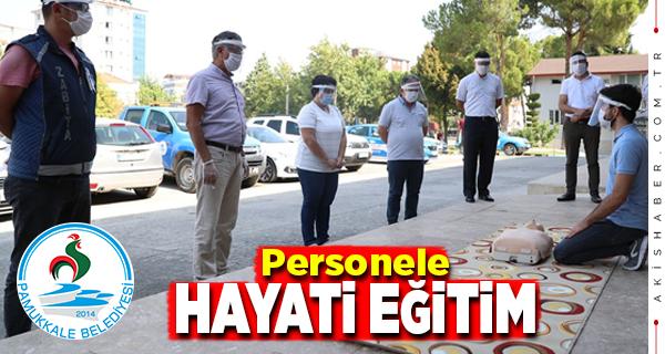 Pamukkale Belediyesi Personeline Uygulamalı Eğitim