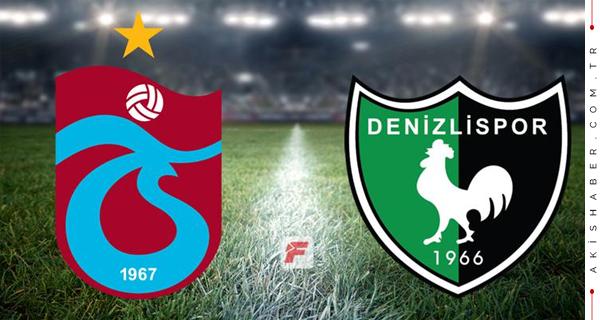Denizlispor - Trabzonspor Maçının Hakemi Açıklandı