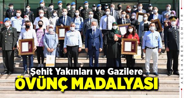 Denizli'de Devlet Övünç Madalyası Töreni Yapıldı