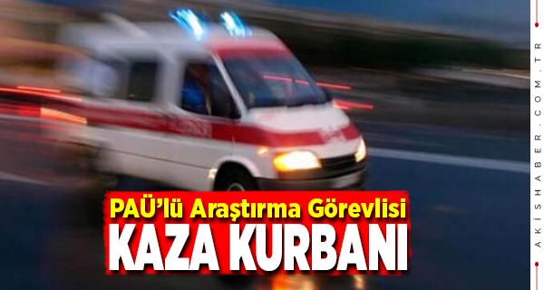 İzmir'deki Kazadan PAÜ'ye Acı HAber