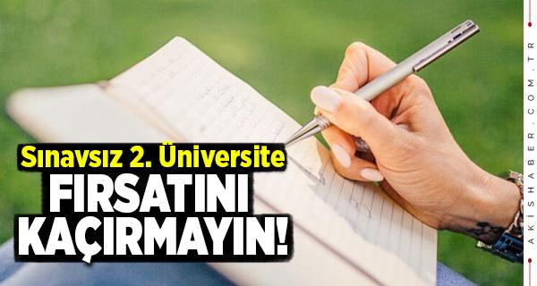 AÖF 2. Üniversite Nedir? Kayıtlar Ne Zaman Bitiyor?