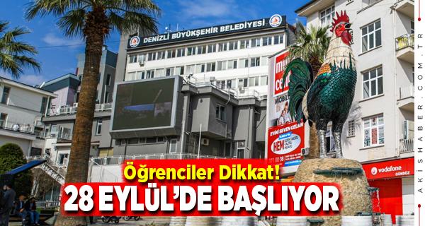 Büyükşehir'den Öğrencilere 3,6 Milyon Destek