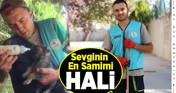 Pamukkale Belediyesi Çalışanından Alkışlık Hareket
