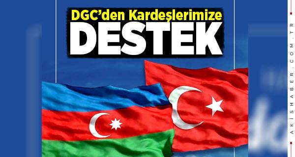 DGC'den Azerbaycan'a Destek