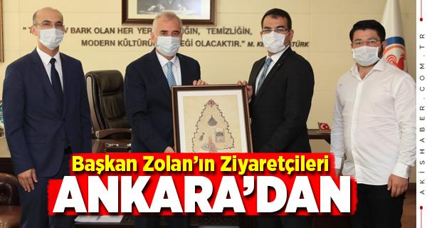 Başkan Zolan Denizlim Derneği'ni Ağırladı