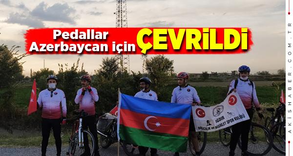 Iğdırlı Bisikletçiler Azerbaycan İçin Yola Çıktılar