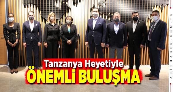 DENİB Tanzanya Büyükelçisini Ağırladı