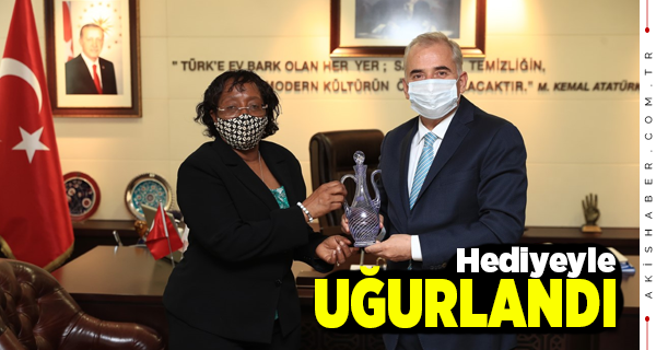 Başkan Zolan Tanzanya Büyükelçisi'ni Ağırladı