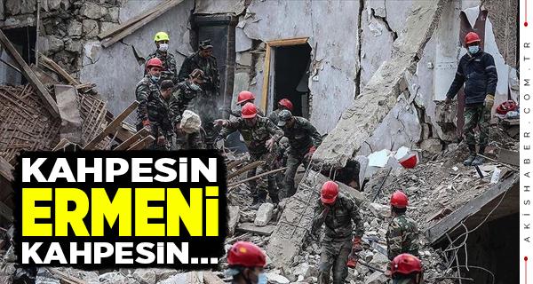 Ermeni Ateşkesi Bozdu Gence'yi Vurdu