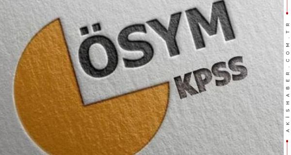 KPSS'ye Girecek Adayların Beklediği Haber Geldi