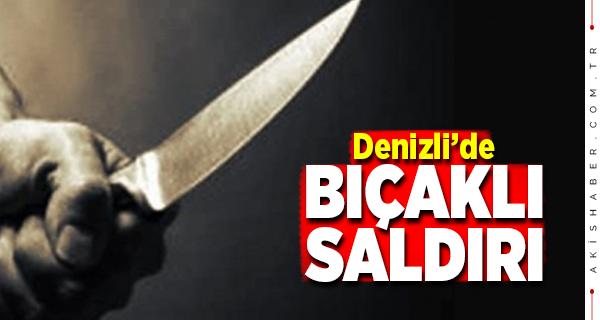 Denizli 15 Yaşındaki Çocuğa Bıçaklı Saldırı