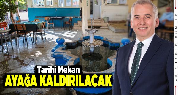 Şirinköy Kahvehanesi Büyükşehirle Hayat Bulacak