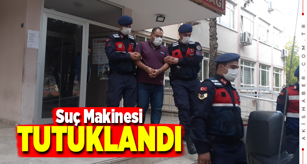 Denizli'de Suç Örgütü Lideri Cezaevine Gönderildi