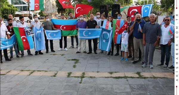 Antalya'dan Azerbaycan'a Büyük Destek