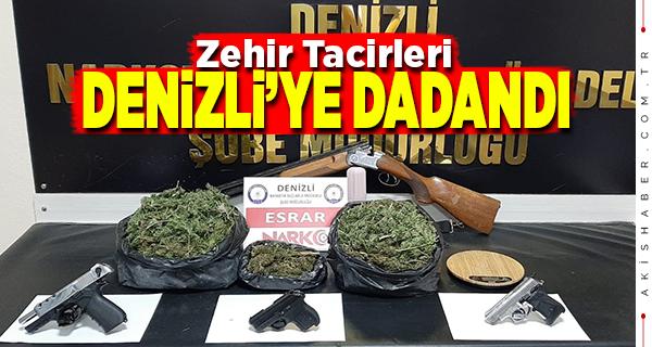 Denizli'de Uyuşturucu Operasyonunda 13 Tutuklama