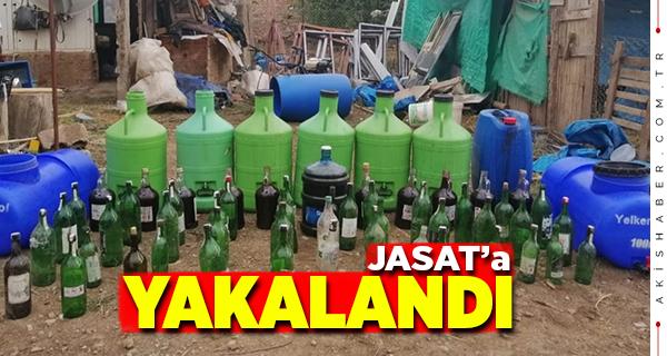 Denizli'de Sahte İçki Üreten Şahıs Yakalandı