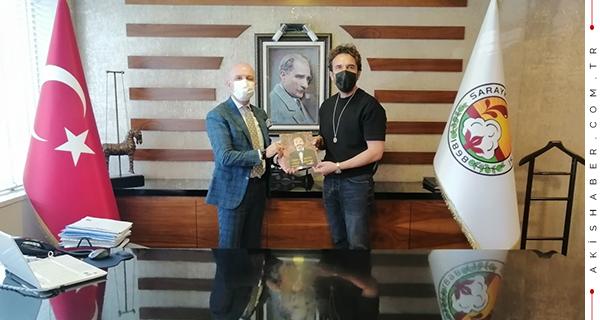 Gürkan Şef'ten Başkan Özbaş'a Ziyaret