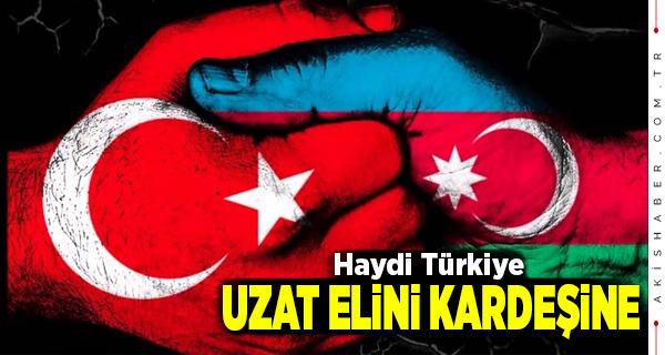 Türk Ocaklarından Gardaş Can Azerbaycan'a Destek
