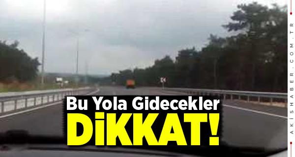 Denizli-Antalya Yolu Trafiğe Kapatılacak