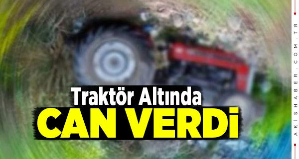 Denizli'de Traktörden Düşen Adam Yaşamını Yitirdi