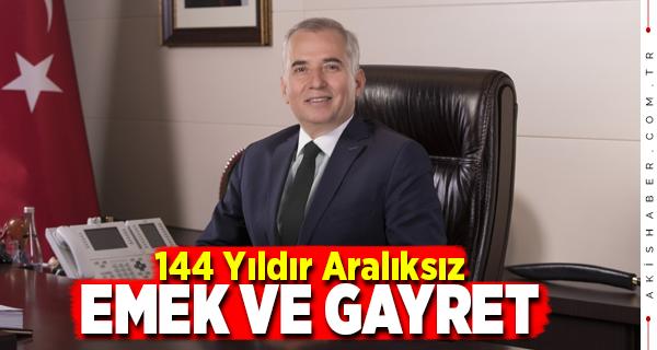 Denizli Büyükşehir Belediyesi 144. Yaşını Kutluyor