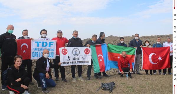 Korhan Yaylası'ndan Can Azerbaycan'a Destek