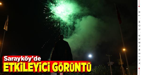 Sarayköy'de Cumhuriyet Bayramı Gösterisi Herkesi Büyüledi