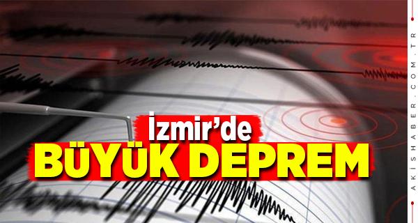 İzmir Seferihisar'da 6.6 şiddetinde deprem