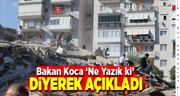 İzmir Depreminde Ölü Sayısı Arttı.