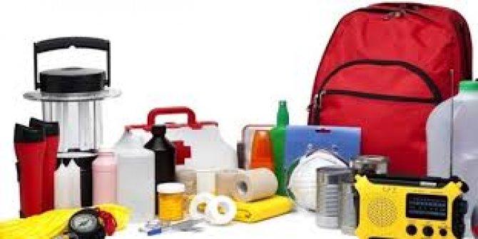 Deprem çantanız yoksa bu haber sizin için