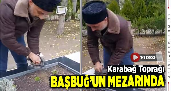 Milliyetçi Hekimler Karabağ'dan Döner Dönmez Başbuğ'un Mezarına Koştu
