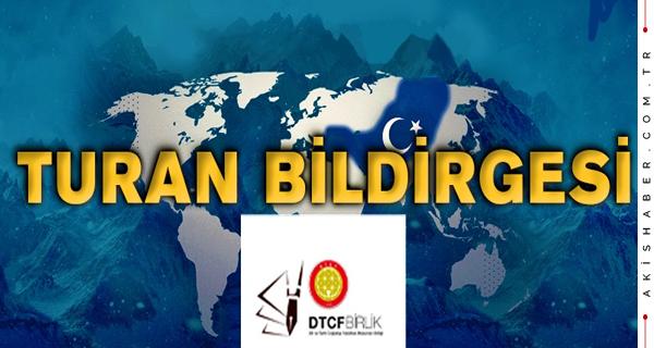 DTCF'li Aydınlar Turan Bildirgesini Kamuoyuna Açıkladı