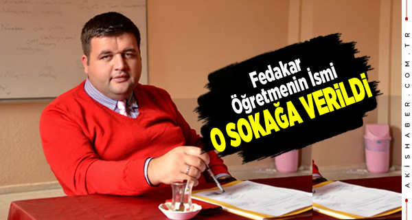 Mustafa Ergenay'ın İsmi Okullar Bölgesinde Yaşayacak