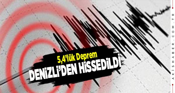 Akdeniz'de Korkutan Deprem Denizli'den de Hissedildi