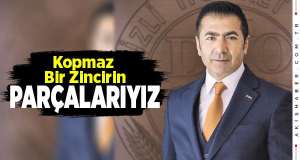 DTO Başkanı Erdoğan'ın 2021 Mesajı