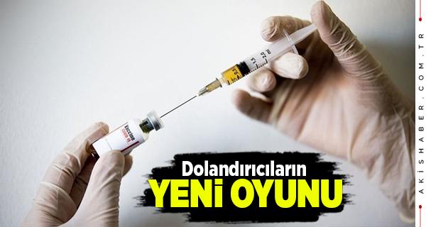 Sağlık Bakanlığından Aşı Dolandırıcılığı Uyarısı