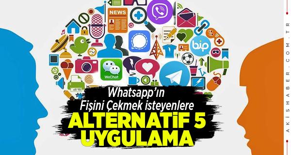 Verilerinizi Paylaşacak Olan Whatsapp Alternatifi 5 Güvenli Uygulama