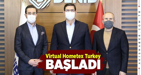 Başkan Memişoğlu Virtual Hometex Turkey'de Konuştu