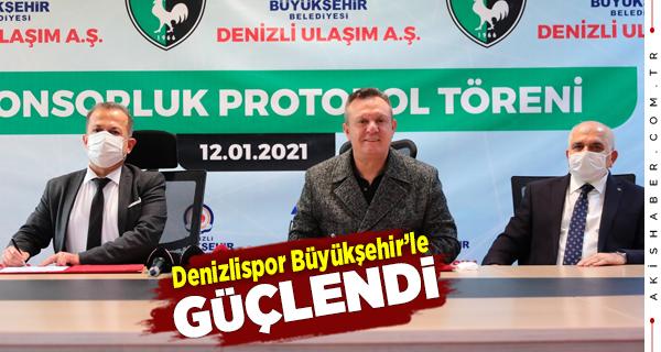 Büyükşehir'den Denizlispor'a 3,75 Milyonluk Destek