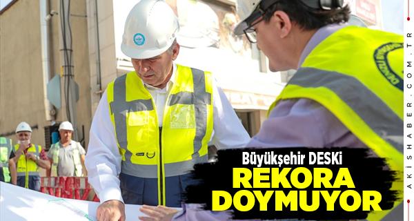 Denizli'de DESKİ'den Tarihi Yatırımlar