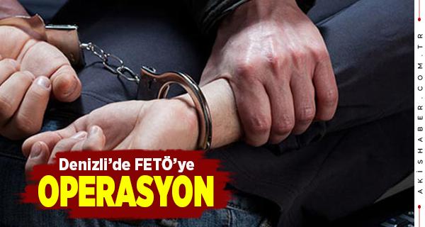 Denizli'de FETÖ Üyeliğine Tutuklama